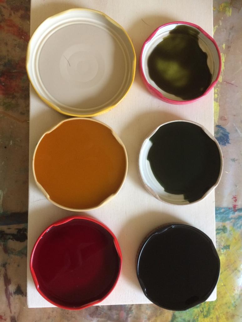 Farbkasten aus der Natur; Recyclingmaterial; Naturfarben; Pflanzenfarben