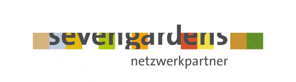 """sevengardens netzwerkpartner; durch das Nationalkomitee der UN-Dekade """"Bildung für nachhaltige Entwicklung"""" als """"Offizielle Maßnahme der Weltdekade"""" ausgezeichnete Netzwerkinitiative"""