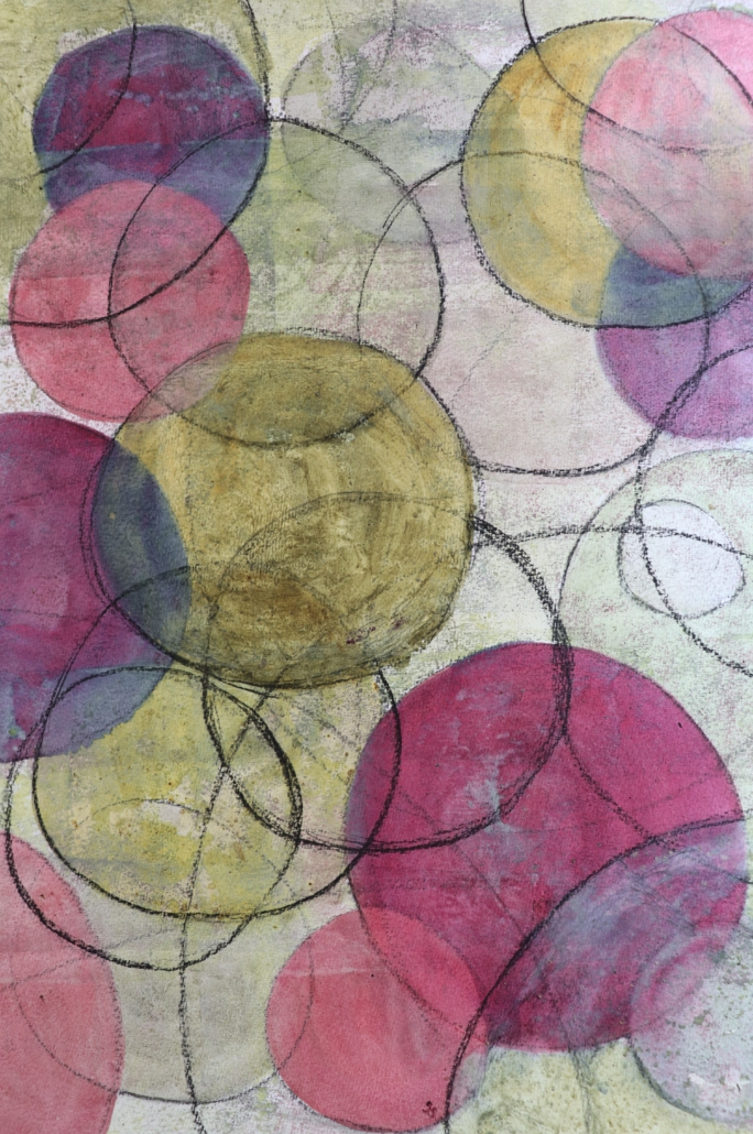 Naturfarben; Komposition 8