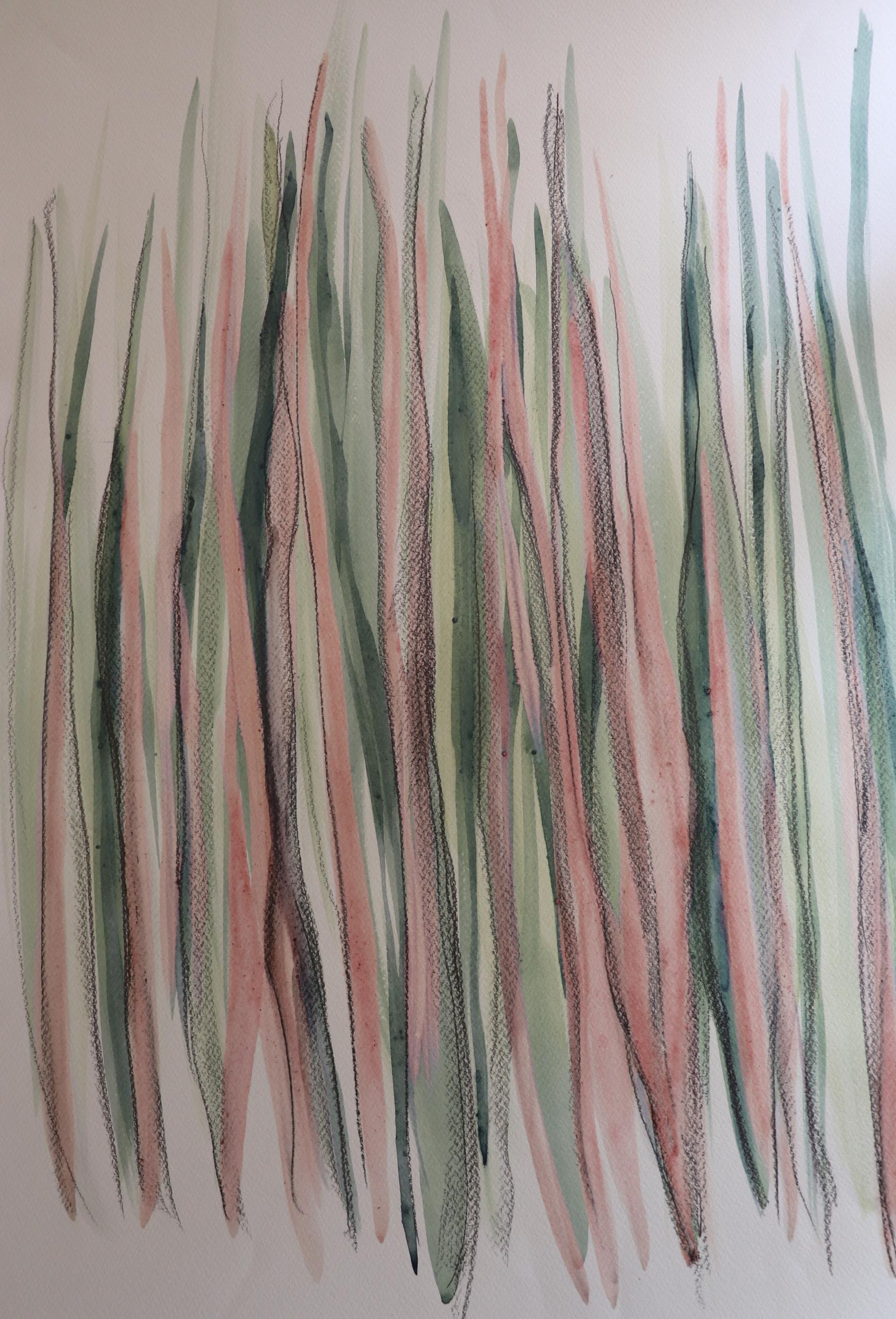 Naturfarben; Komposition aus Flieder